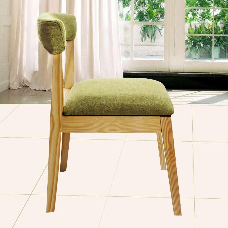 Современный просто мода магазин компьютер спинка стула отели ткань стул семья использование стул кофе стул дерево