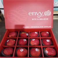 新西兰进口爱妃苹果envy12颗礼盒装新鲜水果胜美国顺丰包邮