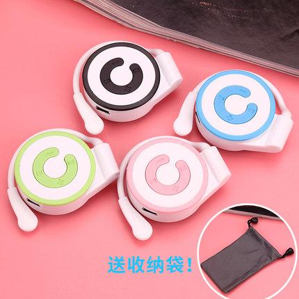 新款耳机迷你插卡MP3挂耳mp3播放器学生随身听P3耳挂式mp3英语