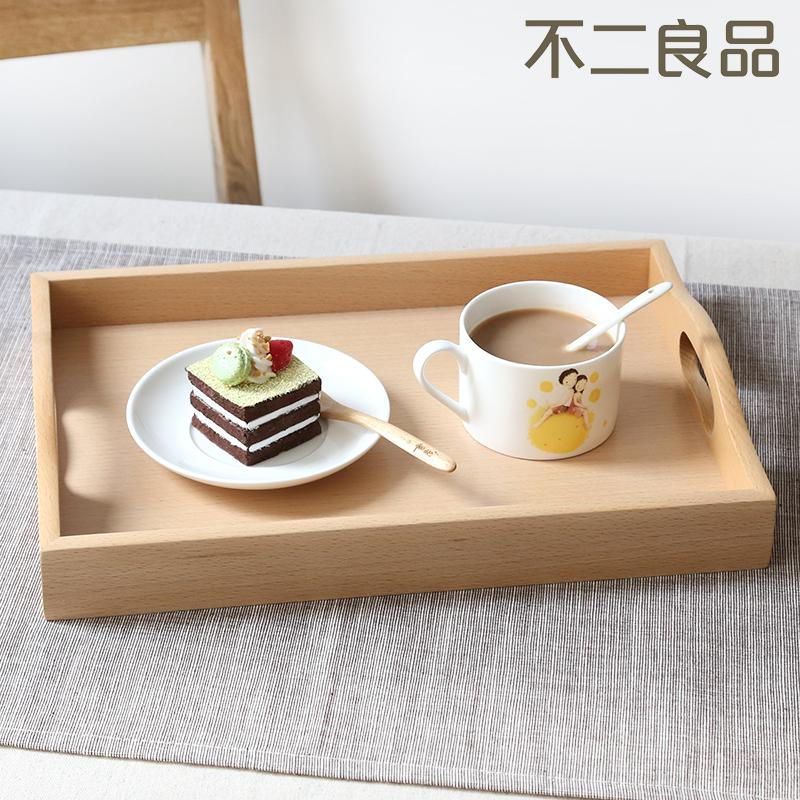 木質長方形托盤茶盤水杯餐具托盤 水果盤歐式客廳麵包點心盤子