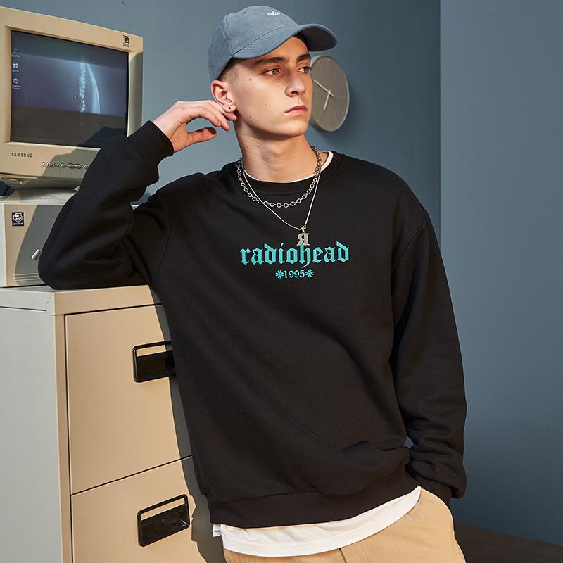 Radiohead/电台司令潮牌卫衣时尚宽松