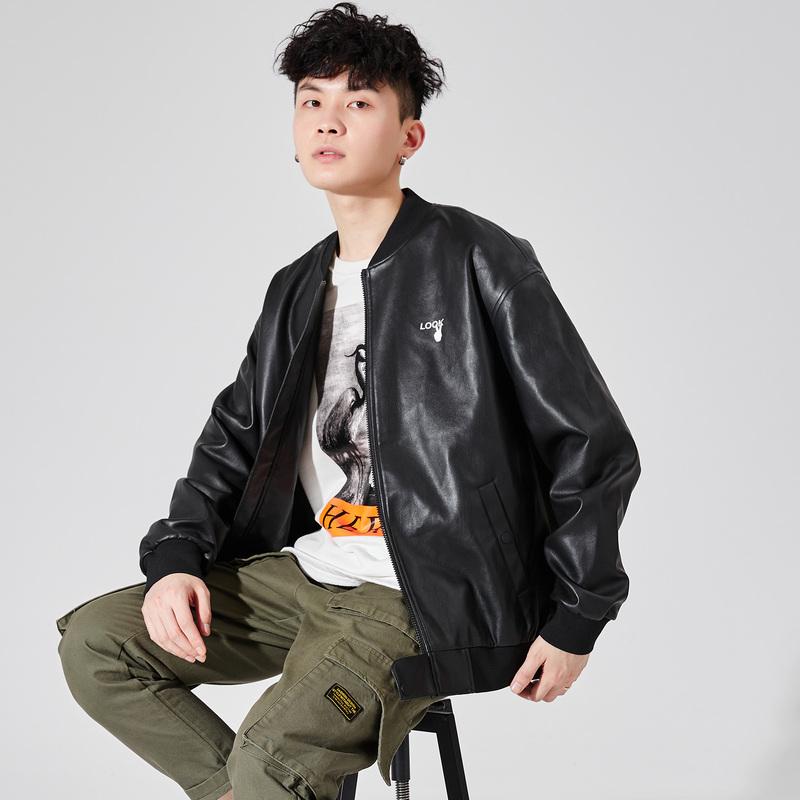 唐狮2021春季新款男外套宽松皮衣好用吗?