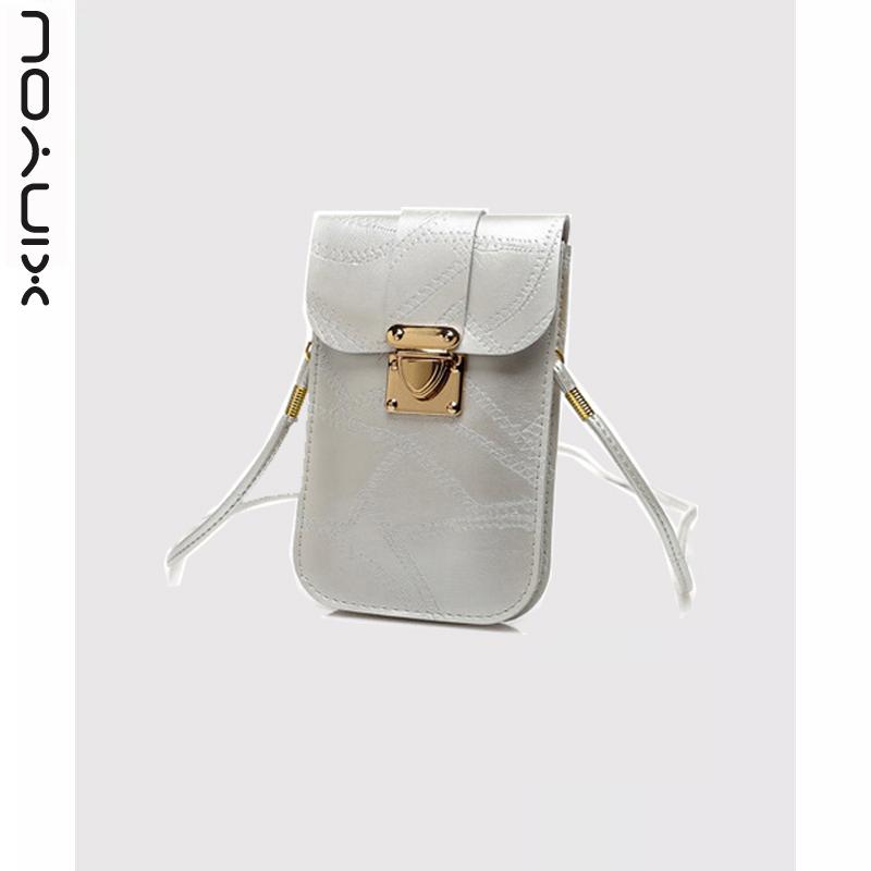 手机收纳包女斜挎包迷你小包单肩女包零钱包苹果6splus大屏手机袋