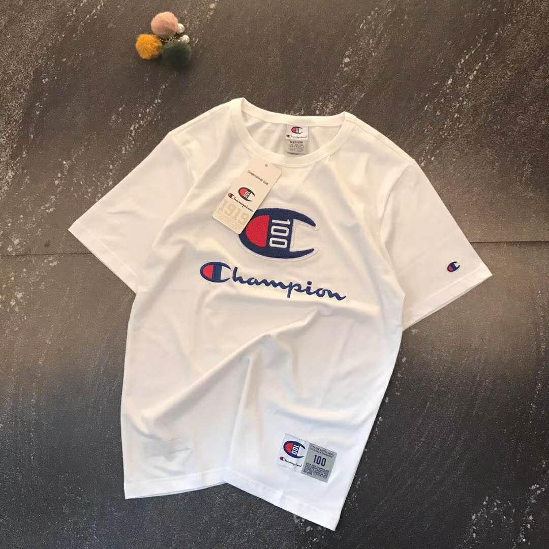 (用1元券)冠军100周年纪念版男女圆领t恤