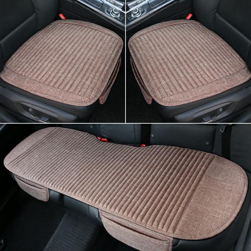 汽车坐垫无靠背奥迪A1A3A4LA5A6A7A8Q3Q5LQ7单片养生四季垫三件套