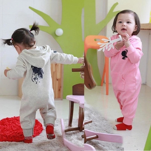 Europe and the United States popular Knight ha clothing spring and autumn conjoined baby Jumpsuit long sleeve creeper embroidery leisure creeper