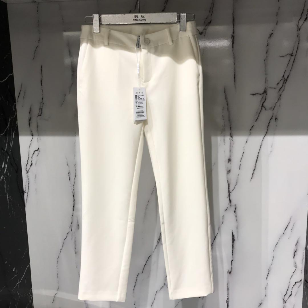 轻奢女装设计师品牌专柜精品裤子ZP03588A5