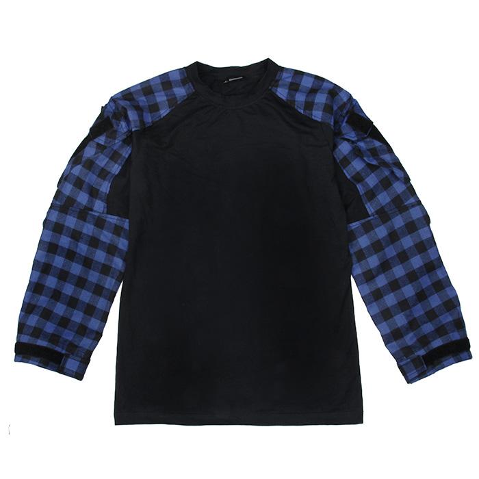 TMC2935-BL 2018 путешествие последовательность член тактический куртка старый реальный гейское клетчатый тактический рубашка хлопок материал