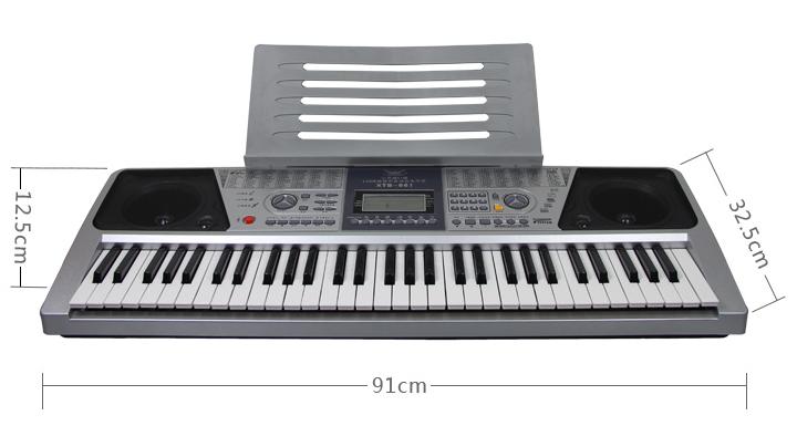 全新正品小天使 xts661电子琴 61键电子琴成人教学儿童练习电子琴