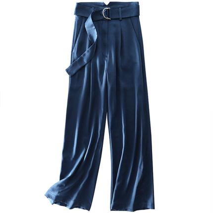 特价新款气场十足显廋显高腰阔腿裤