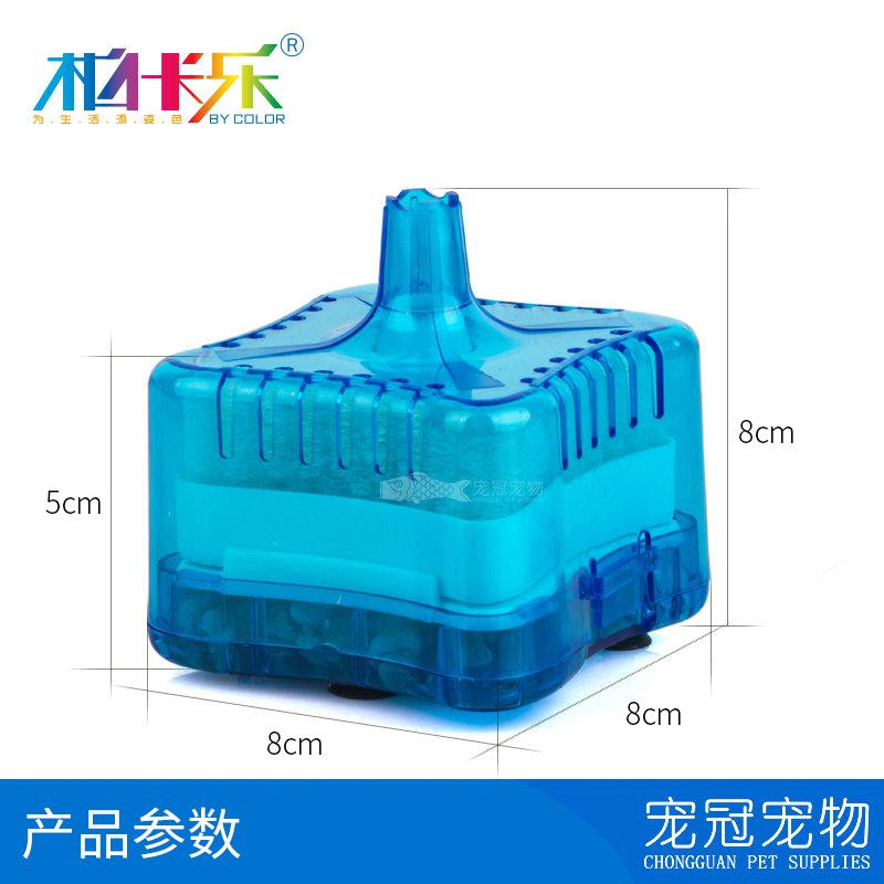 高效過濾迷你水妖精氣動式生化過濾器吸便器 陶瓷 圓形魚缸過濾器