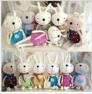 毛绒玩具兔子玩偶小挂件结婚礼物公仔婚庆活动礼品布娃娃特价