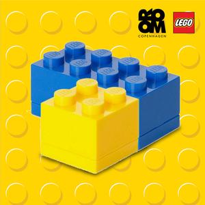 乐高迷你收纳盒lego儿童玩具积木零件归类分类储存盒塑料储物箱