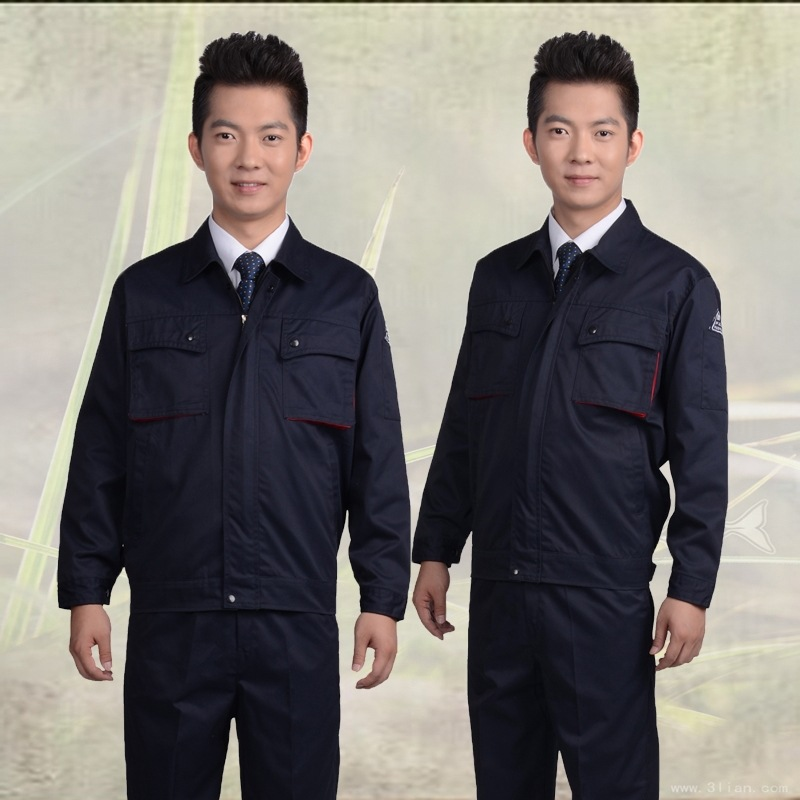 Antistatic clothing long sleeve LPG station work clothes gas station workers uniform Petrochemical Oil Station clothing electrician clothing