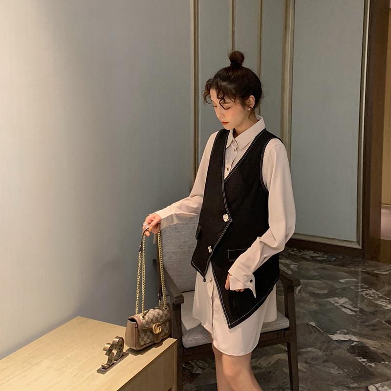 孕妇装长袖娃娃衫宽松韩版小个子