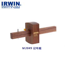 United States Irwin Owen Marples Woodworking Master Series Tenon Groove marking gauge marking rules