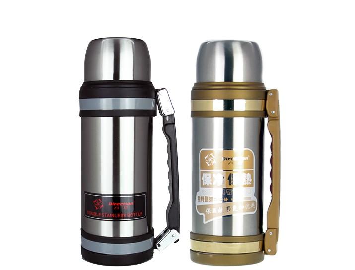 #超优汇#八方5代 2000ML大容量不锈钢真空保暖保温壶 旅游旅行壶