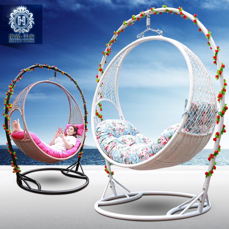 Корзина плетеный стул вешать стул качели на открытом воздухе колыбель стул один гамак комнатный балкон озноб стул гостиная для взрослых шезлонг