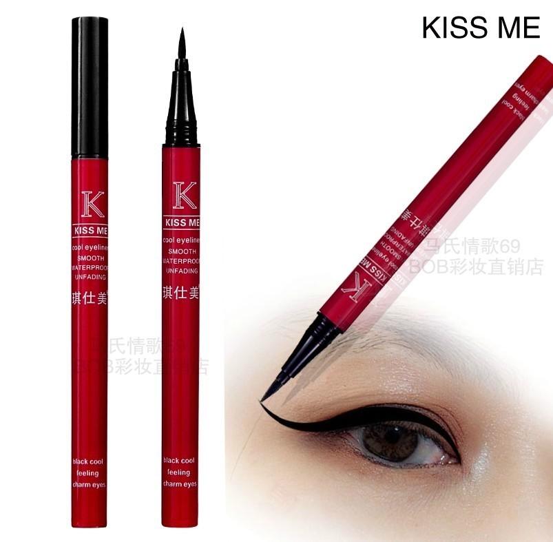 新品 包邮正品 黑色眼线液笔 眼线水笔防水防汗持久不晕染眼线笔