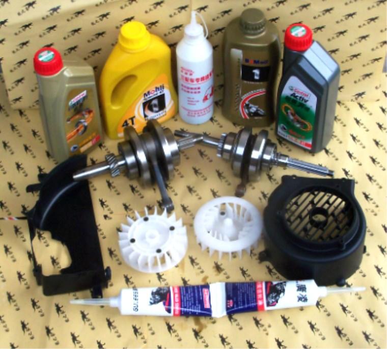CG125小公主福喜巧格迅鹰摩托车机油尺/润滑油曲轴齿发动机罩AB罩
