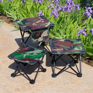 便携式折叠小凳子折叠椅板凳钓鱼凳矮凳马扎户外写生坐火车四角凳