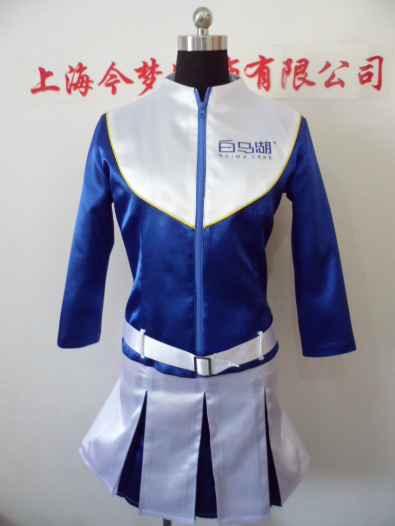 Sales promotion clothing customization can come to picture fabric processing sales promoter drinks work clothing customization sales uniform female
