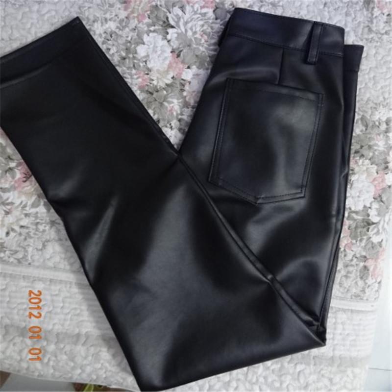 Кожаные брюки Артикул 559195990235