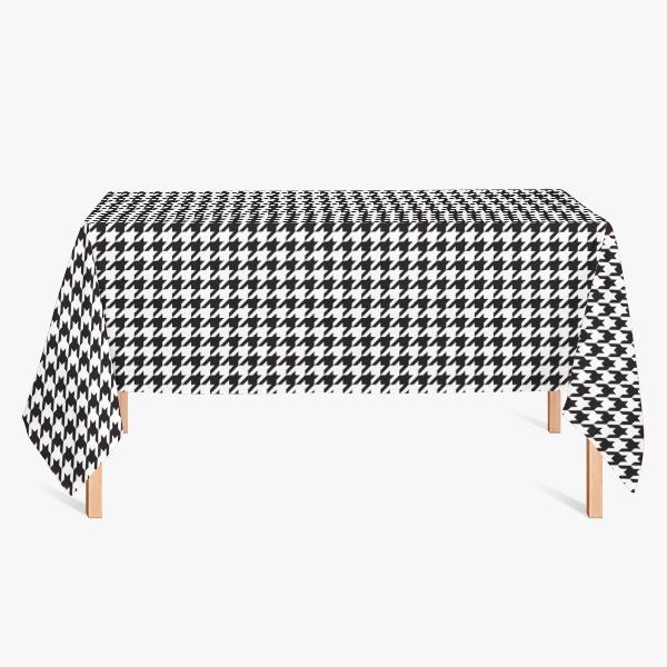 格子小方格网红千鸟格定制简易桌布满10元可用5元优惠券