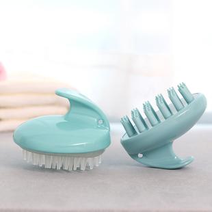 日本洗头神器洗头刷子成人头部按摩刷梳头洗发梳头皮止痒清洁硅胶