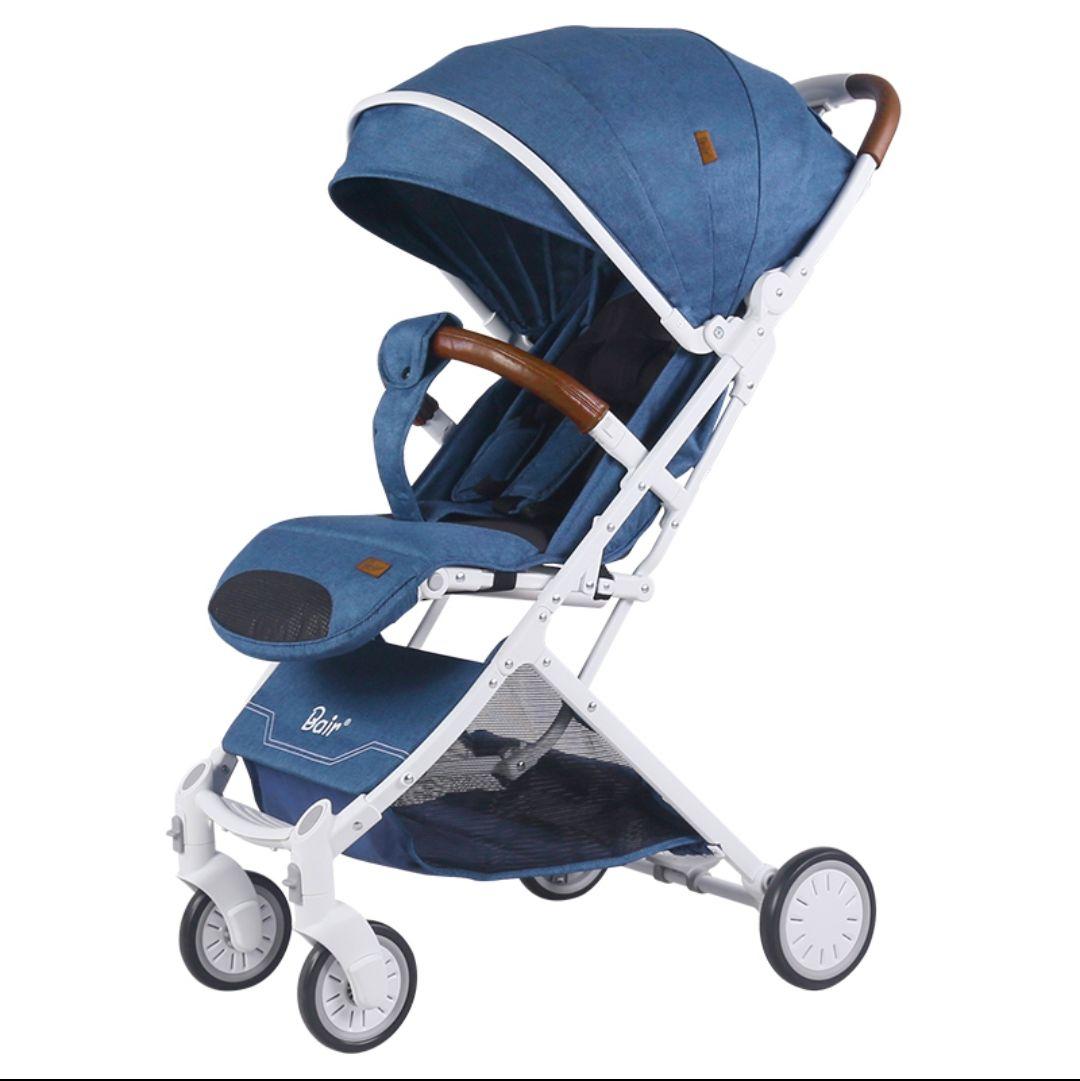 Bair贝尔婴儿推车可坐可躺折叠轻便宝宝新生儿童伞车夏婴儿车