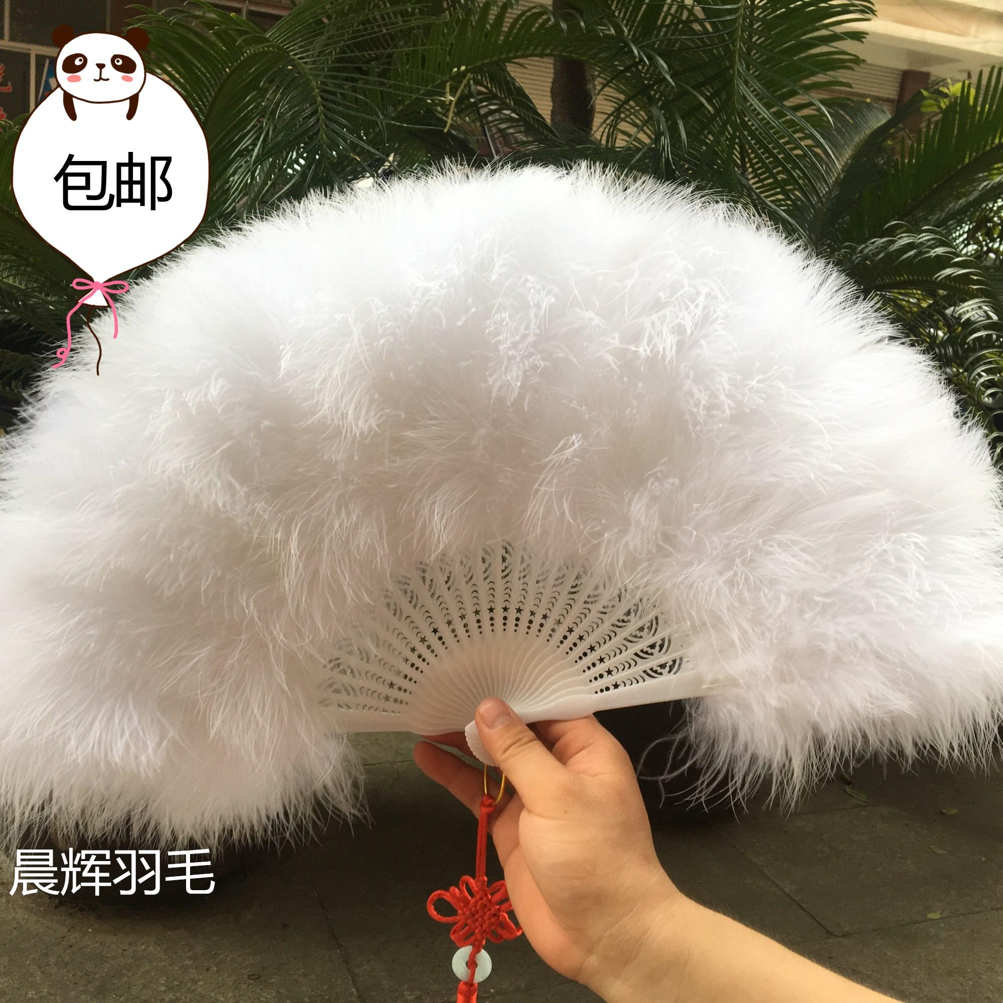 Бесплатная доставка бутик весь бархат толстый шлейф вентилятор стандарт веер cheongsam переходный мостик этап производительность танец вентилятор 50*30