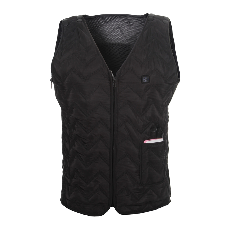Smart vest mens electric warm vest electric warm clothing temperature control heat vest shoulder in winter mens and womens Outerwear