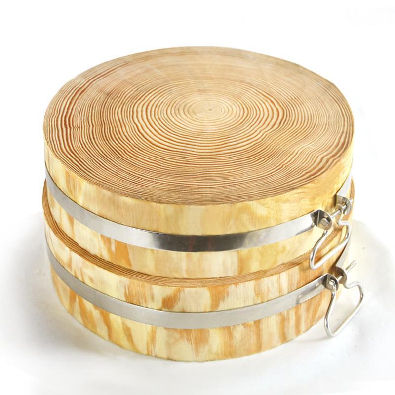 10-20新券菜敦 圆形 实木加厚松木菜板实木家用砧板厨房切菜板肉板案板粘板