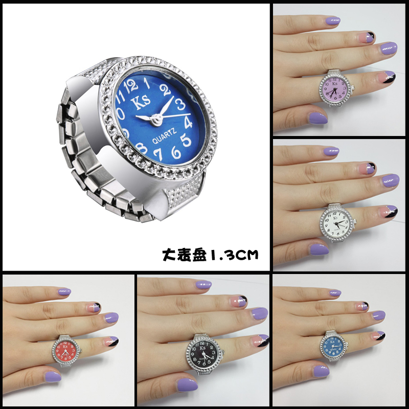 Double 11 special ring ring ring real watch ornament simple waterproof male and female birthday gift student children