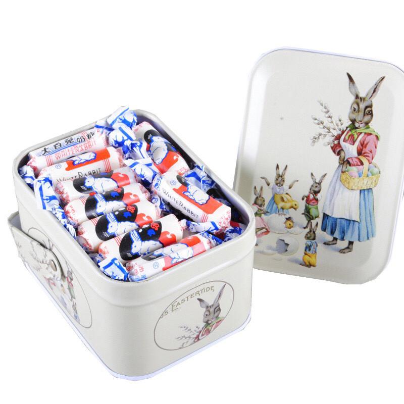 上海特产冠生园大白兔奶糖礼盒送女友生日喜糖果七夕情人节手腕盒图片
