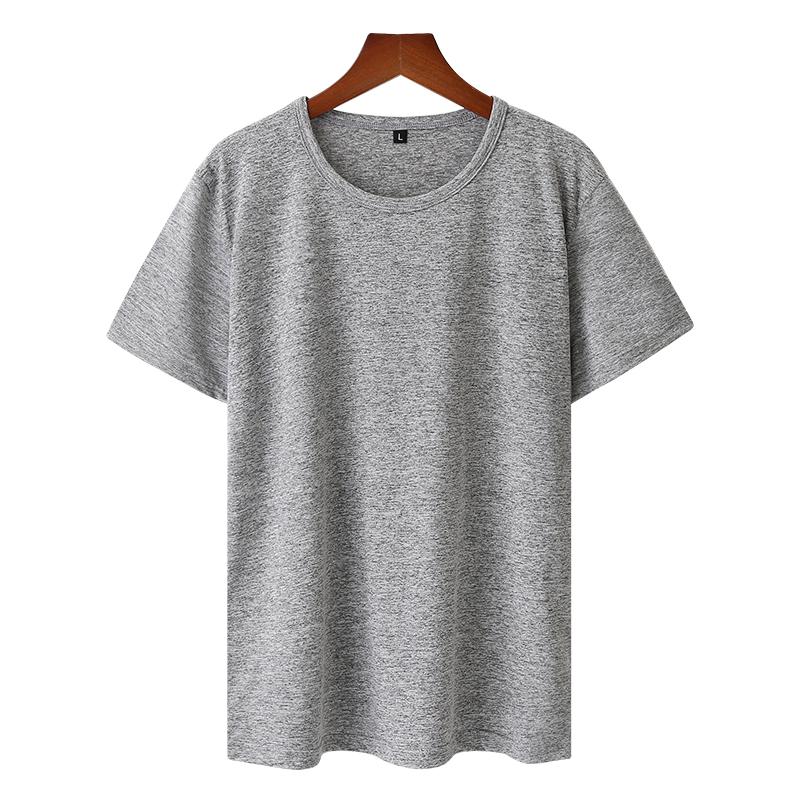 夏季速干衣短袖男女同款健身运动阳离子吸湿 排汗T恤圆领冰感半袖