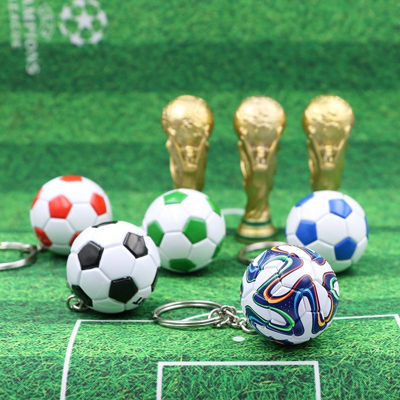 Футбол подарок мини лига чемпионов чашка брелок вентилятор мешки кулон творческий аксессуары кубок мира годовщина статья