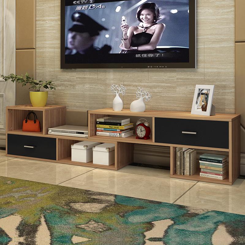 Современный простой небольшой квартира телевизионный шкаф мини легко гостиная сочетание зеркало телескопической спальня пластина телевизор кабинет