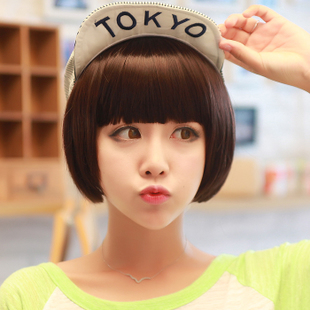 Hairsoul mushroom head Liu Qi fluffy wig short hair bobo bob wig female 105