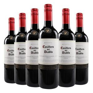 红魔鬼卡本妮苏维翁红葡萄酒 智利...