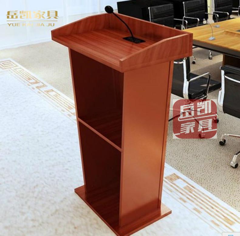 讲台 演讲台办公家具现代简约发言台迎宾接待台会议主持主席移动