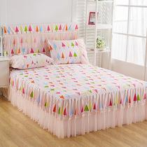 床单1.5床卓2.0米2x2.乘1.8八5五1保护套一8床裙式床罩单件防尘罩