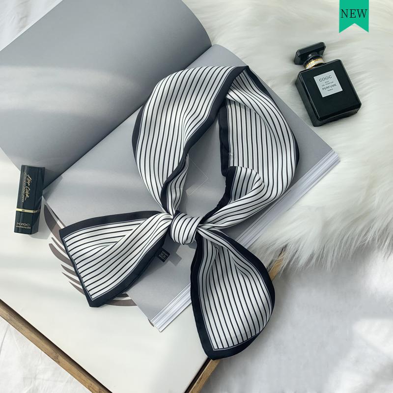 9.90元包邮ins夏季装饰韩国长条细窄小丝巾