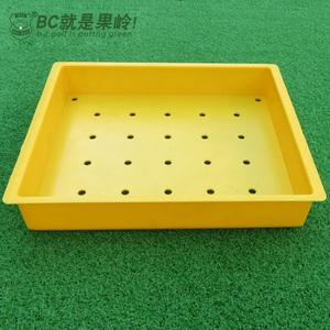 高尔夫发球盒练习场打击垫配装球盒