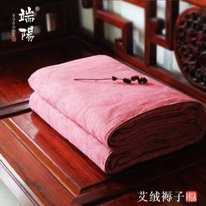 蕲春古艾 高端订制养生艾绒褥子古法工艺陈艾绒床垫无烟艾灸被子