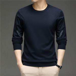 春秋针织衫百搭套头毛衣T恤MJ2282-P80,男装针织衫/毛衣,钱塘6025