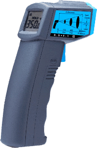 Industrial thermometer bg42 thermometer high precision infrared thermometer electronic handheld temperature measuring gun water temperature oil temperature