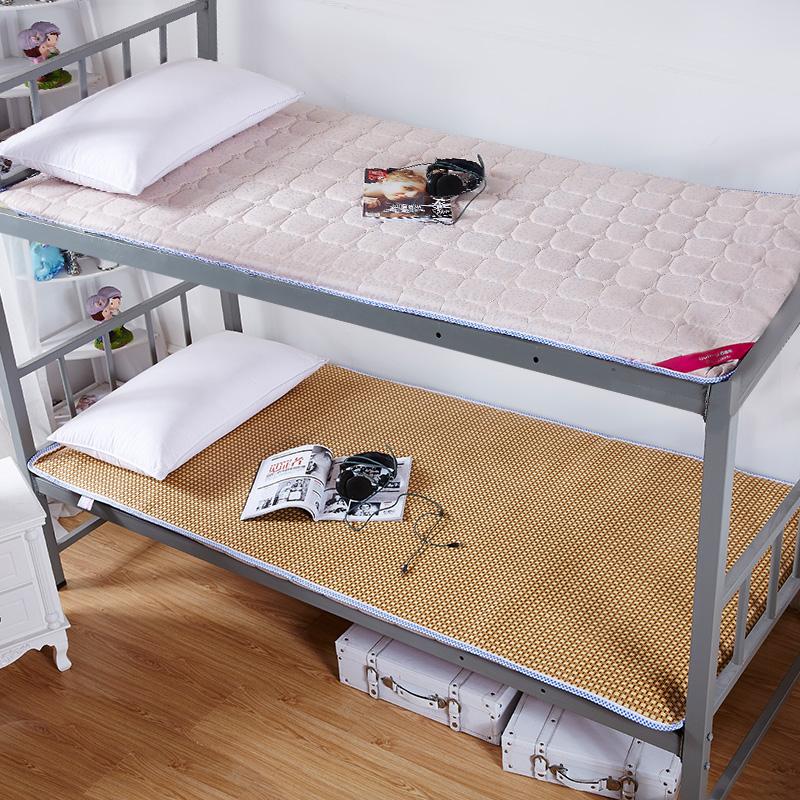 百富帝 双面加厚榻榻米学生床垫宿舍寝室单人夏季0.9m床折叠1.2米,可领取20元天猫优惠券