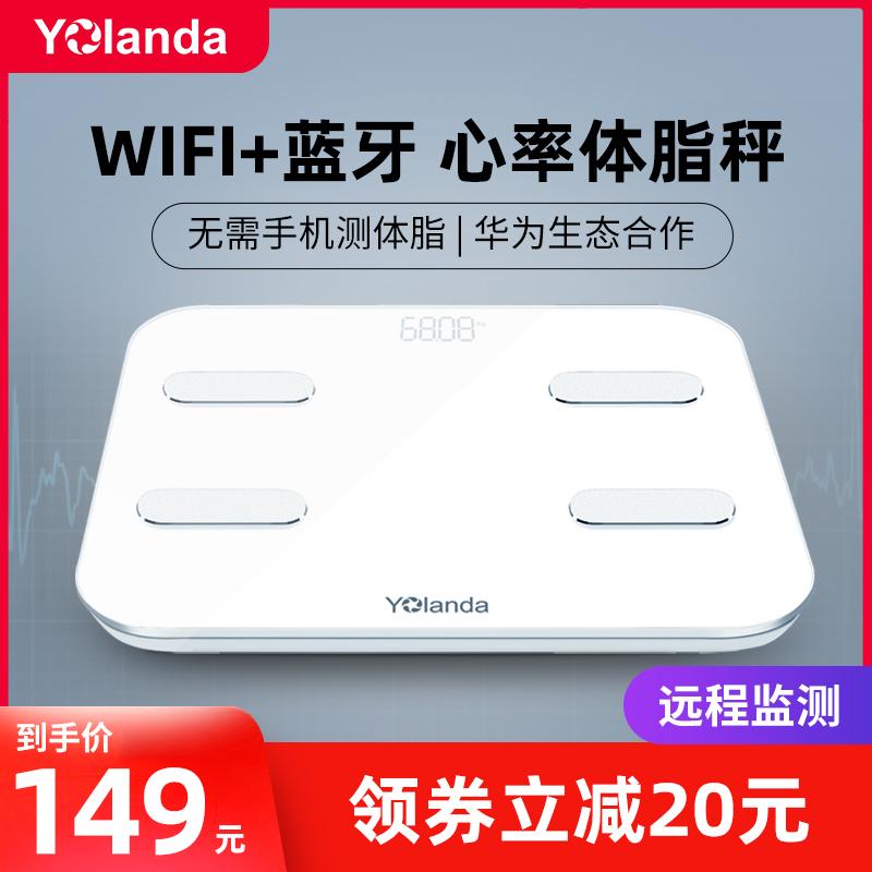 云康宝wifi家用yolanda蓝牙体脂秤评价如何