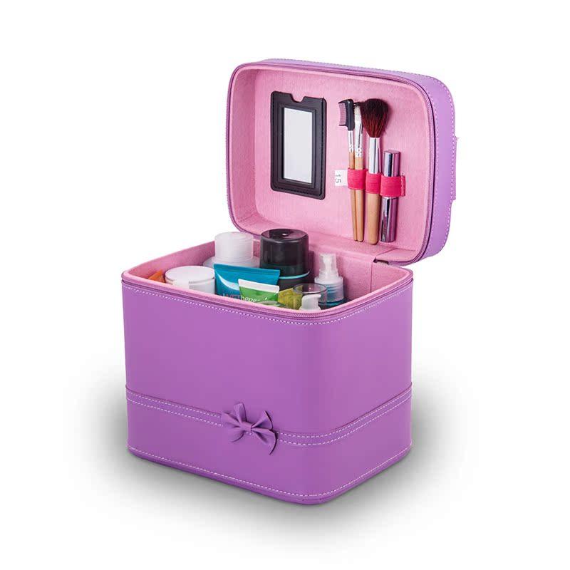 化妝包包化妝箱韓國手提化妝盒化妝品收納包大容量女防水可愛便攜